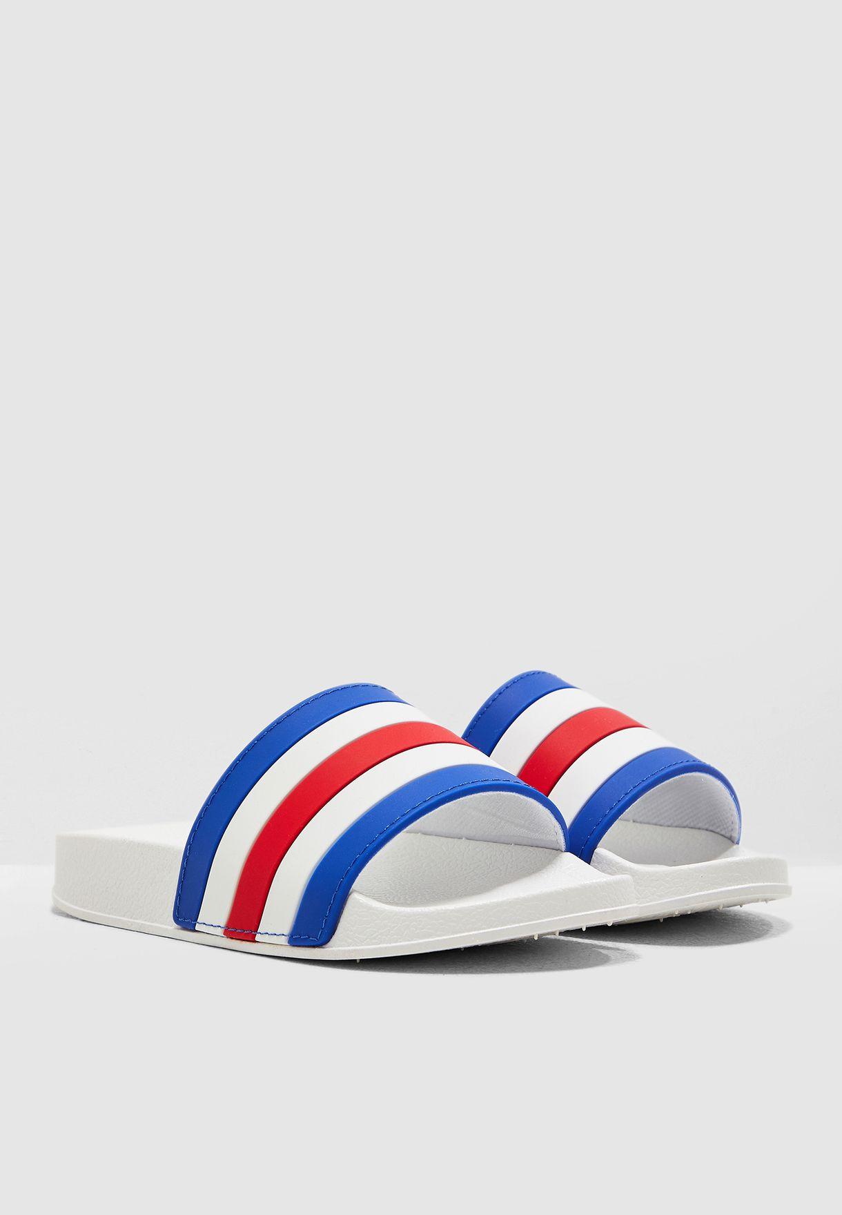 Teen Striped Flip Flop