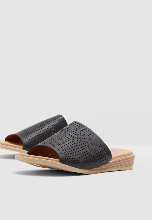 Laser Cut Out Sandal