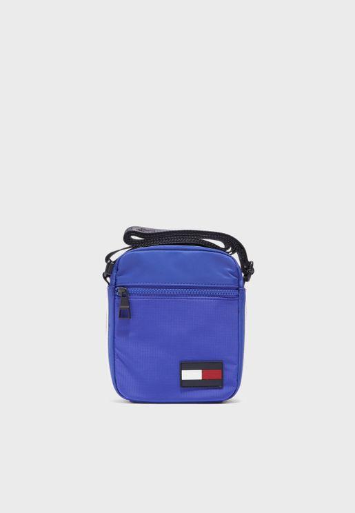 Logo Flag Mini Messenger Bag
