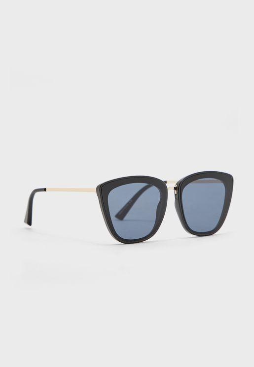 نظارة شمسية بأذرع رفيعة