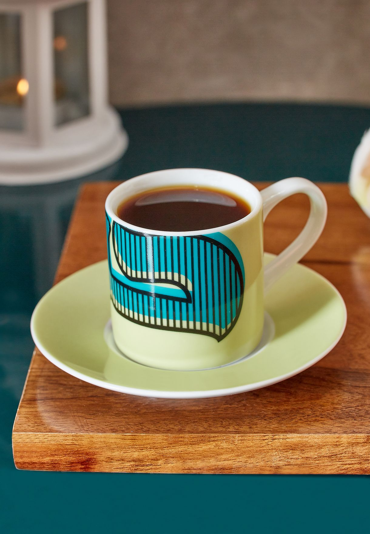 Hubb Espresso Cup & Saucer Set