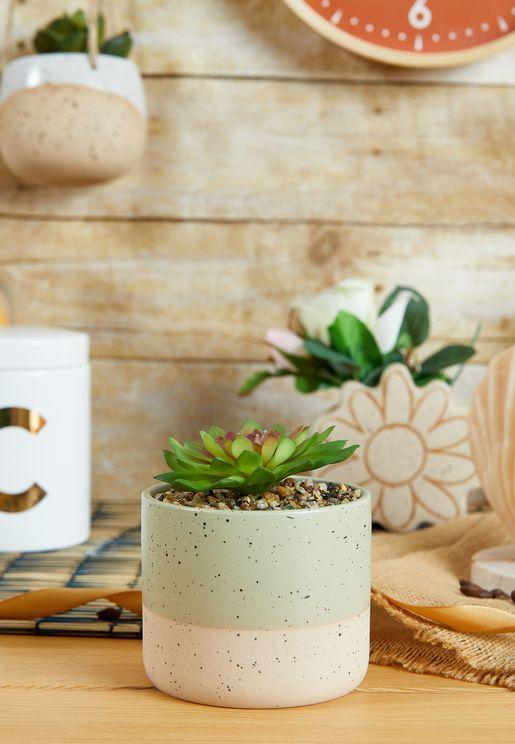 اصيص نبات صناعي