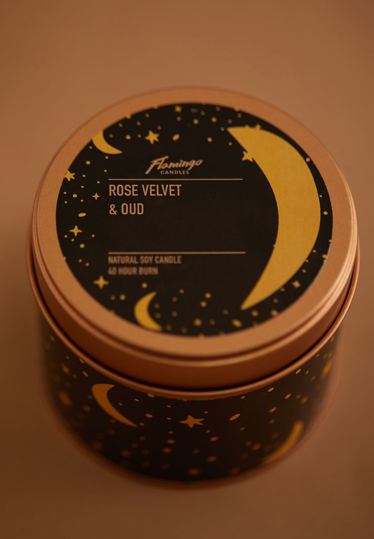 Rose Velvet & Precious Oud Scented Candle