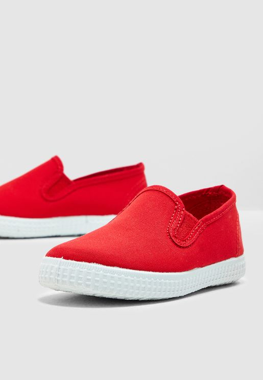 Kids Canvas Slip On
