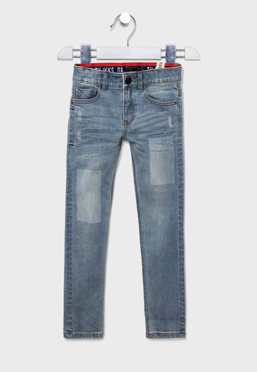 Youth Adjustable Waistband Jeans