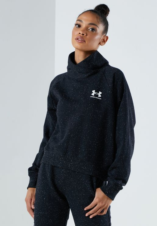 Rival Fleece Wrap Neck Sweatshirt