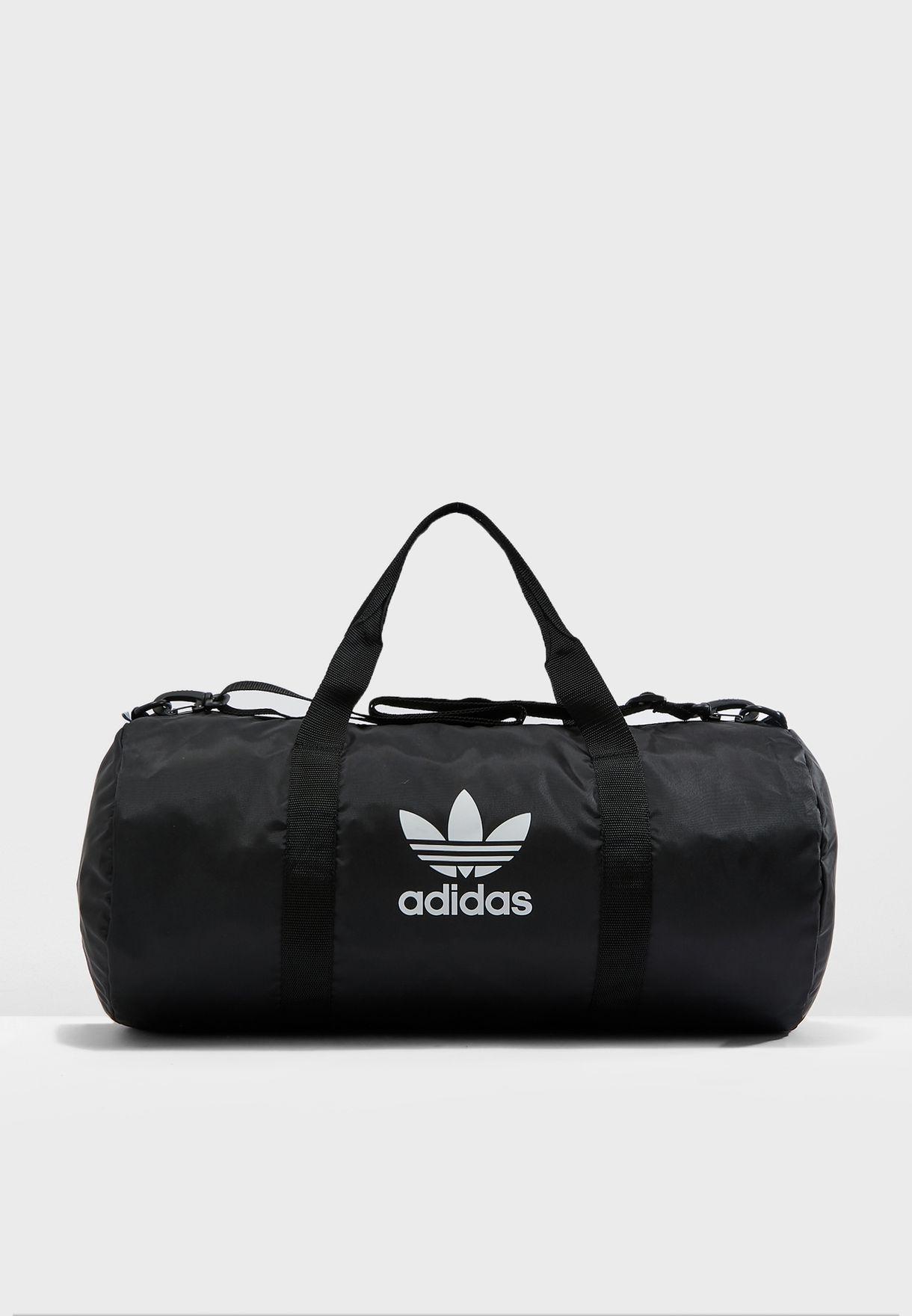 72d36b557b1b4 Shop adidas Originals black adicolor Duffel Bag ED7392 for Men in ...