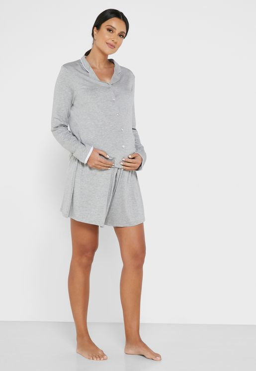 Soft Touch Pyjama Short Set