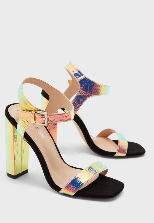 Meteor Ankle Strap Sandal - Multicolor
