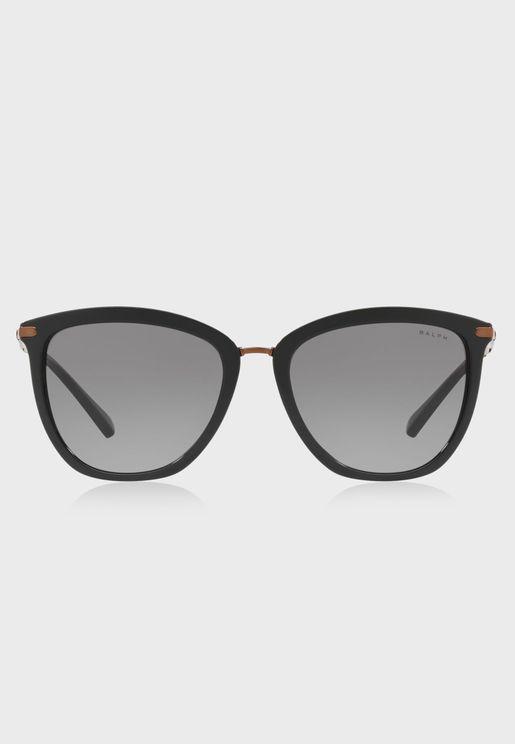 0RA5245 Striped Havana Sunglasses