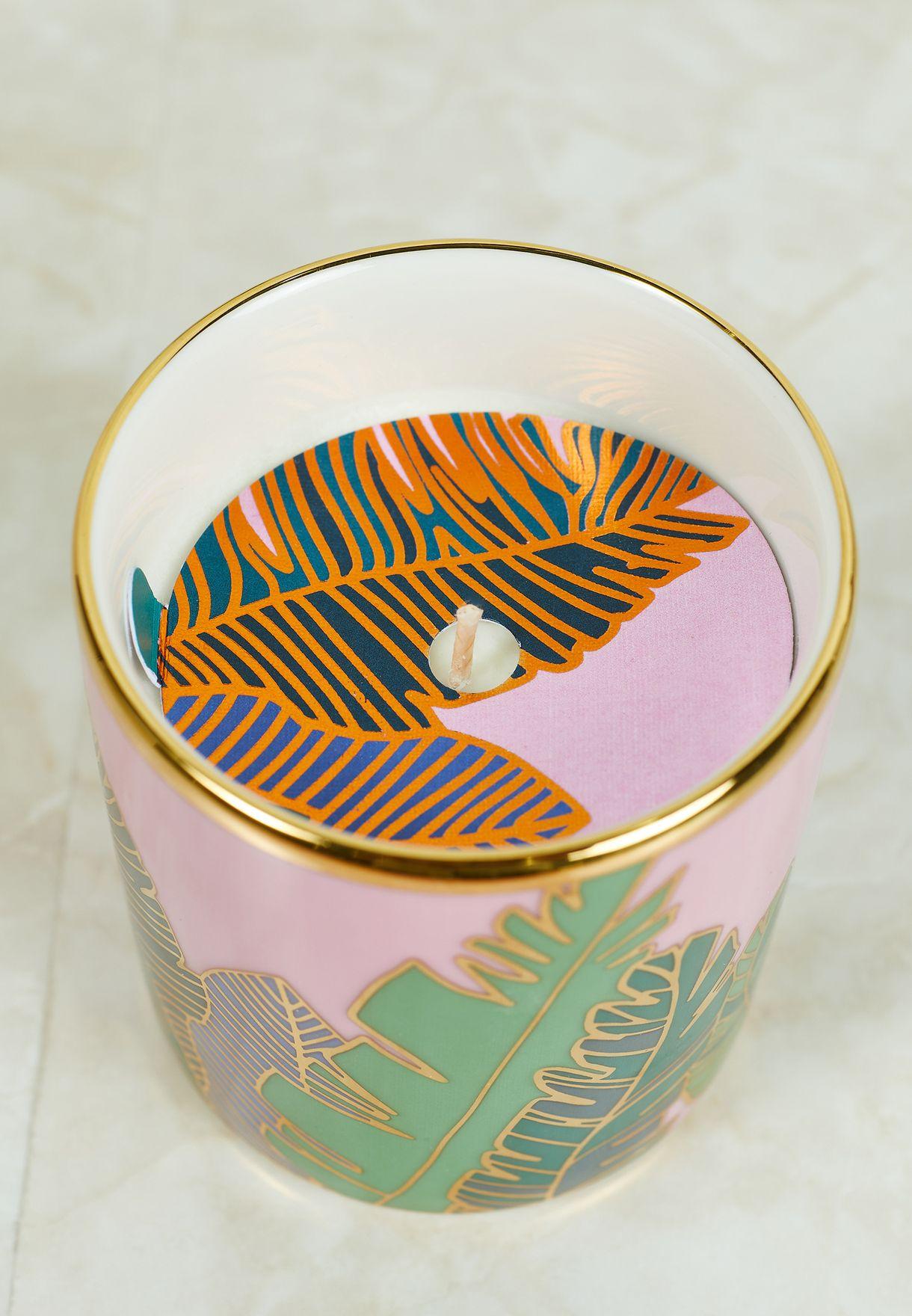 Mandarin Babylon Porcelain Candle 200ml