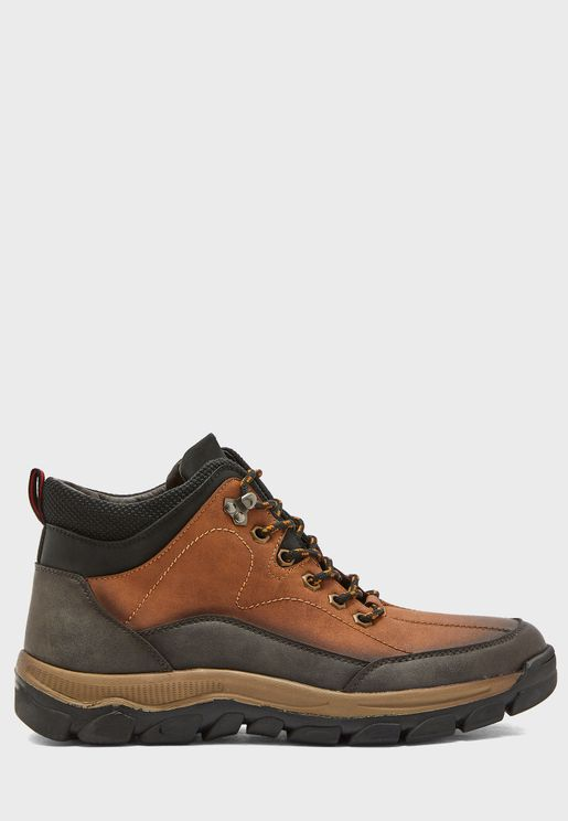 Casual Utility Boots