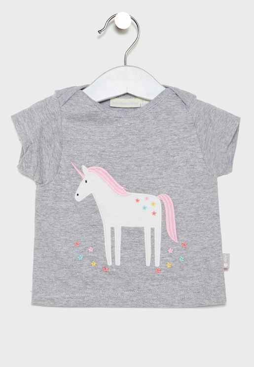 Infant Unicorn Graphic T-Shirt
