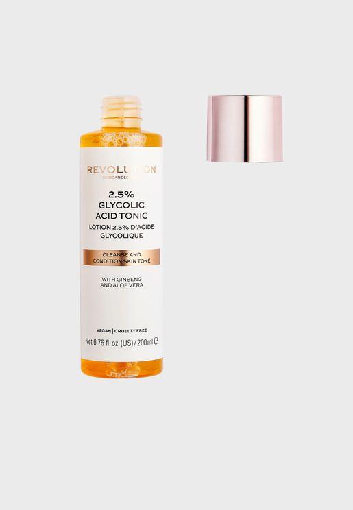 Revolution Skincare 2.5% Glycolic Acid Toner