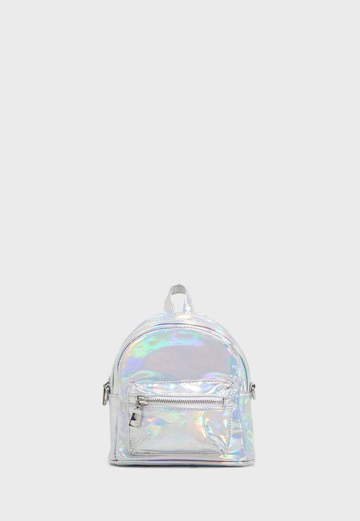 Btanya Front Zip Backpack