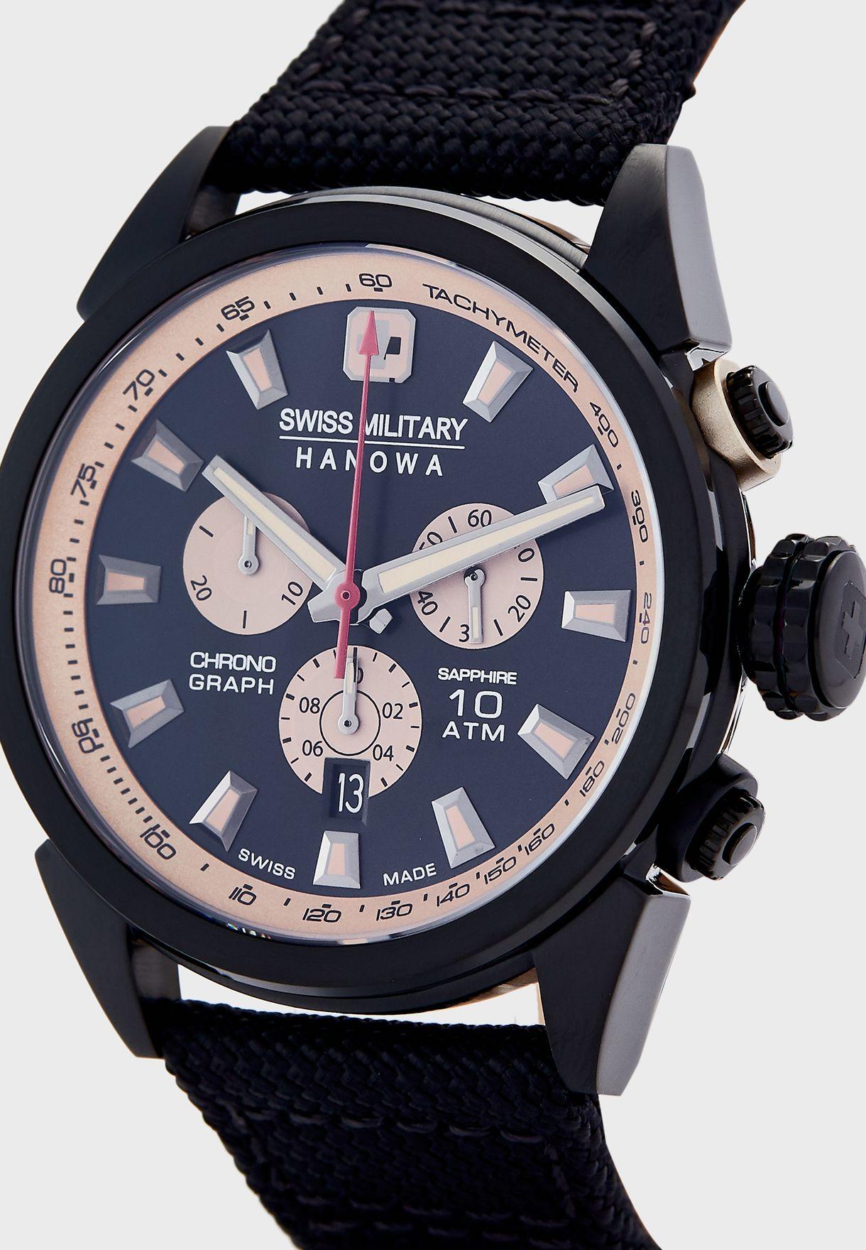 W S6-43221300714 Platoon Chronograph Watch