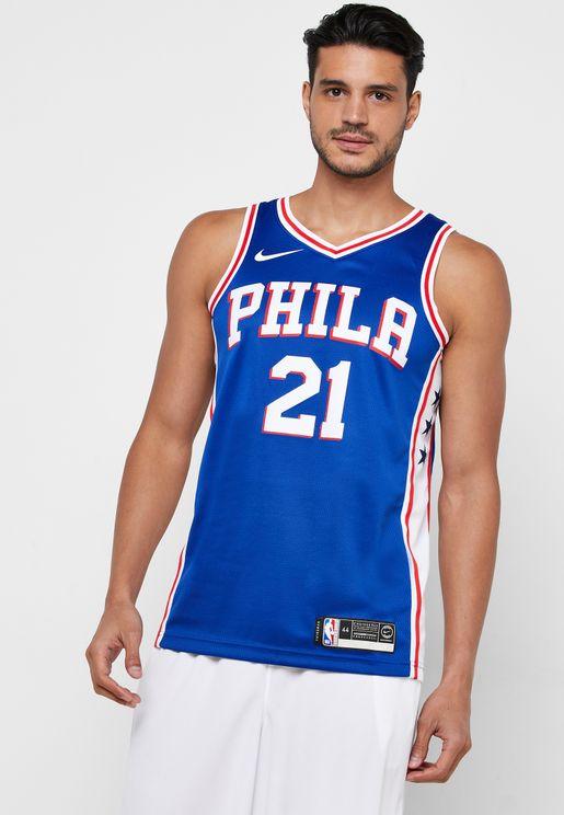 Philadelphia 76ers Joel Embiid Swingman Jersey