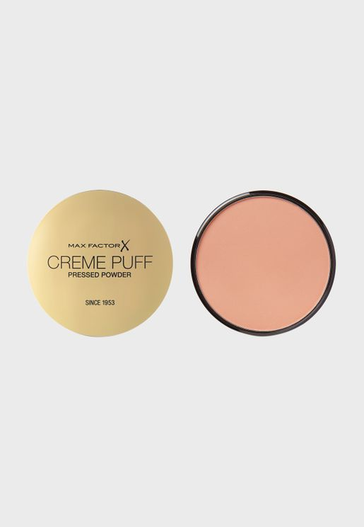 Creme Puff Pressed Compact Powder- 55 Candle Glow