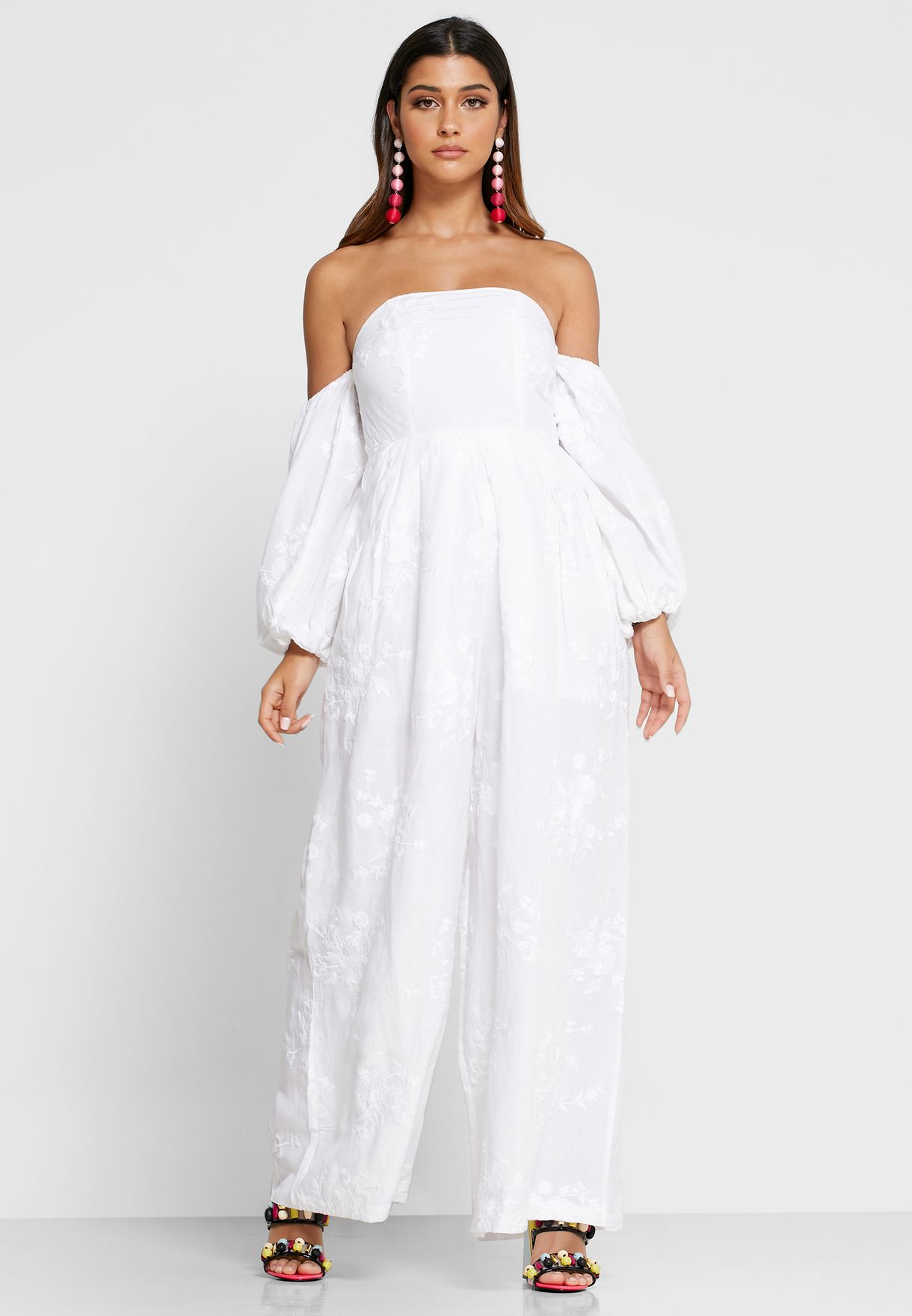 Manila Off Shoulder Jumpsuit