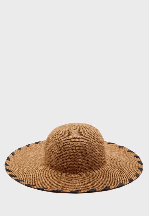 قبعة قش