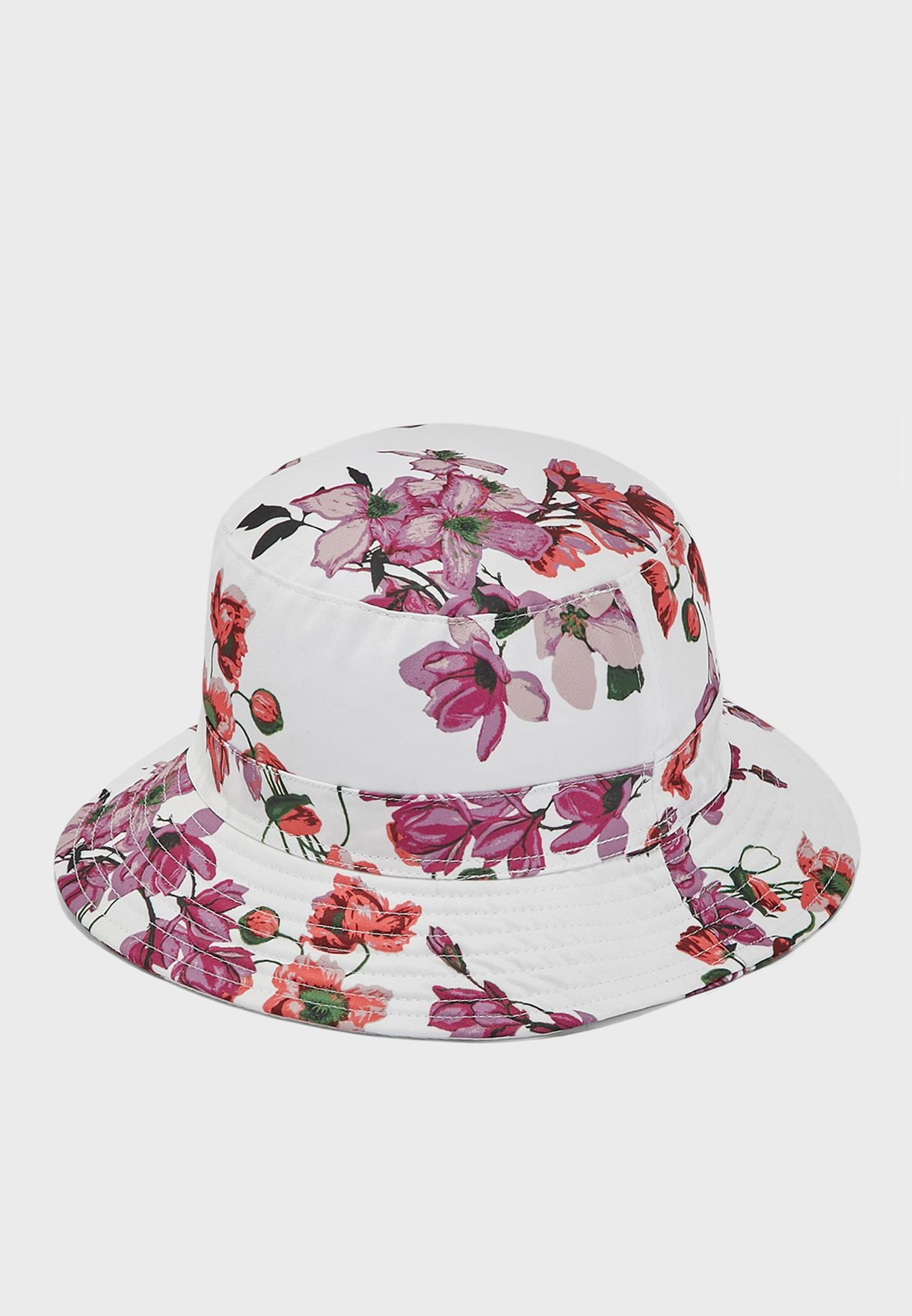 Floral Print Bucket Hat