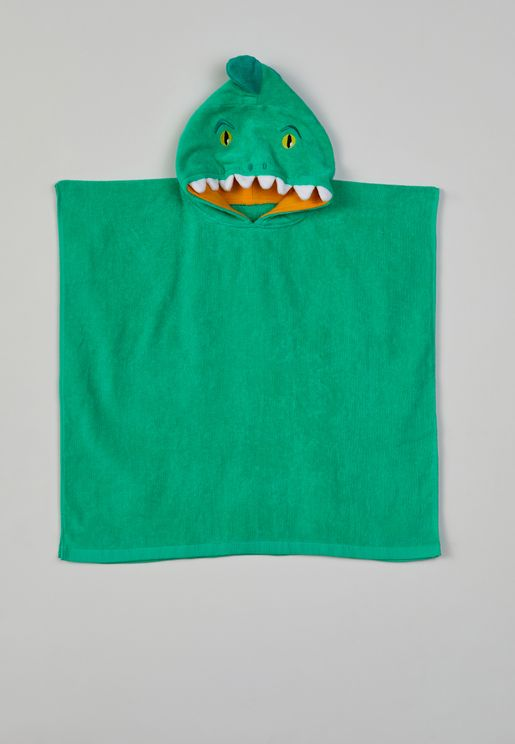 Croc Kids Hooded Beach Towel