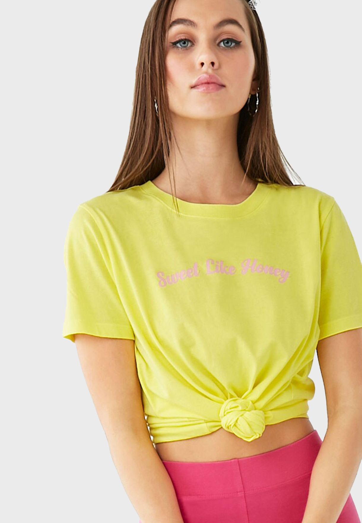Front Knot Logo Top