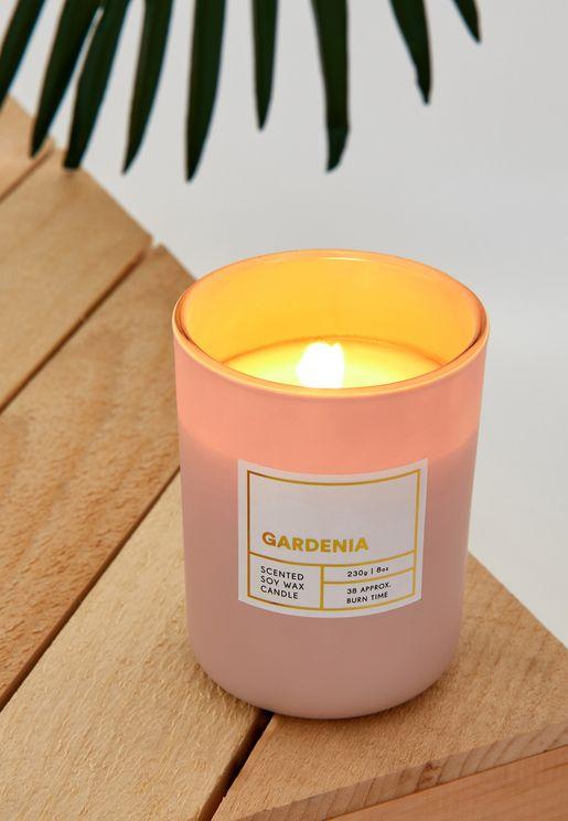 Modern Candle Gardenia Scent