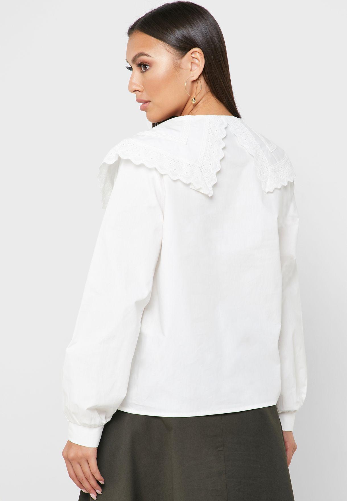 Overlay Button Down Shirt