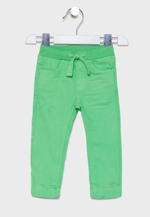 Infant Tie Waist Detail Trouser