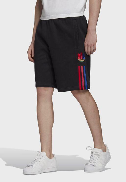 adicolor 3 Stripe Trefoil Shorts