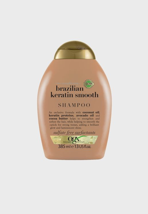 Ever Straightening+ Brazilian Keratin Shampoo 385ml