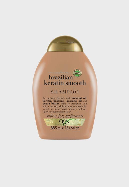 شامبو ايفر ستريتنينج بالكيراتين البرازيلي - 385 مل