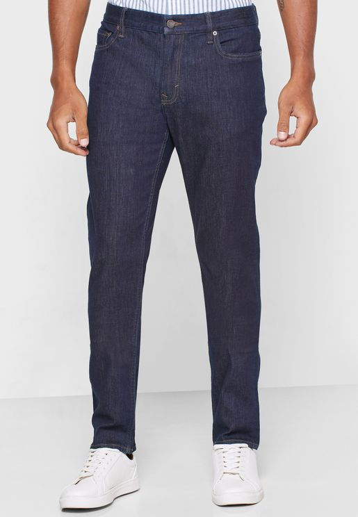 World Traveler Straight Fit Jeans
