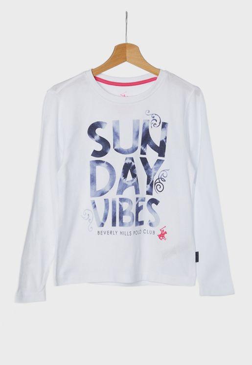 Kids Sunday Vibes T-Shirt