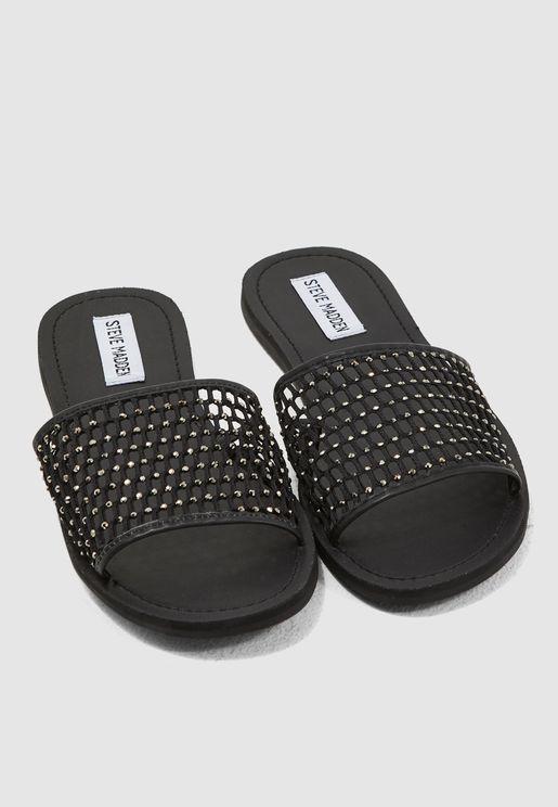e561ae94e Alexa Flat Sandal - Black