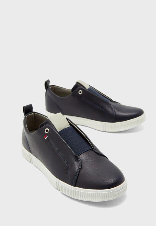 حذاء كاجوال جلد