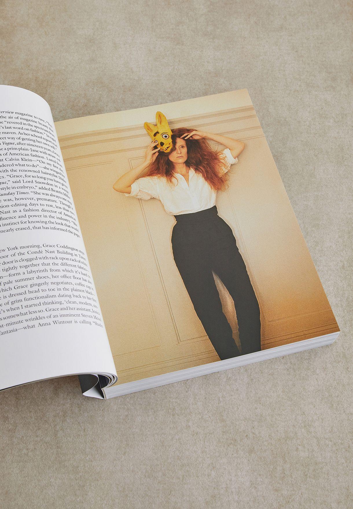 """كتاب"""" Grace Thirty Years Of Fashion At Vogue Paperback"""""""