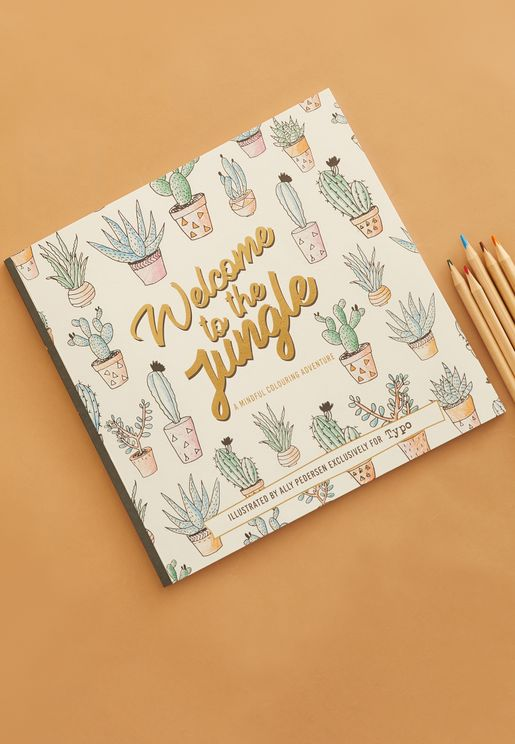Welcome To The Jungle Colouring Book
