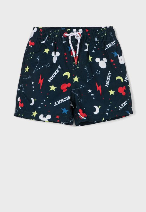 Infant Mickey Mouse Swim Shorts