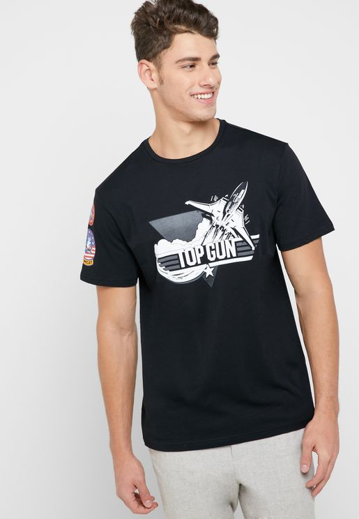 Top Gun Crew Neck T-Shirt