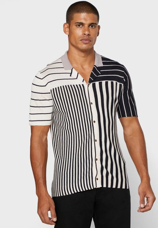 Orso Striped Slim Fit Shirt