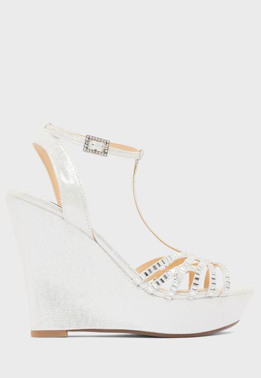 Ember Wedge Heel Sandal