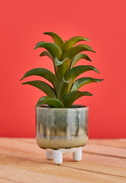 Mini Reflective Glaze Planter