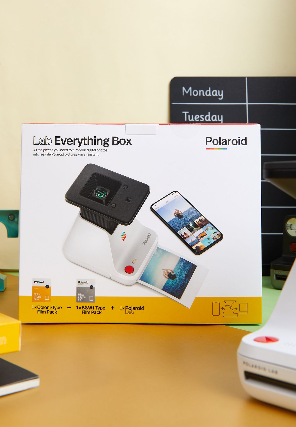 Everything Box Polaroid Lab