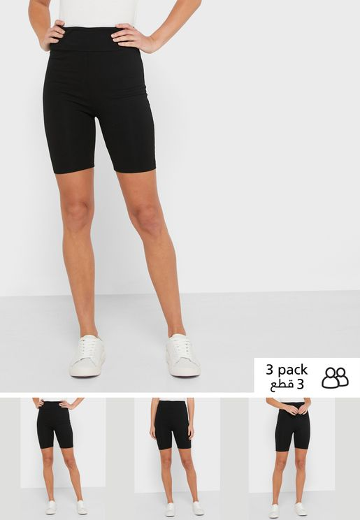 3 Pack Cycling Shorts