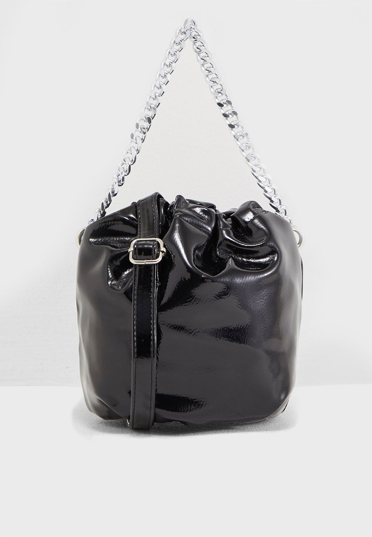 Crossbody Bag With Chain Detail