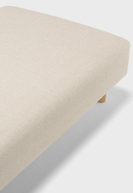 غطاء سرير قطن جيرسي 180x200x18-28 سم