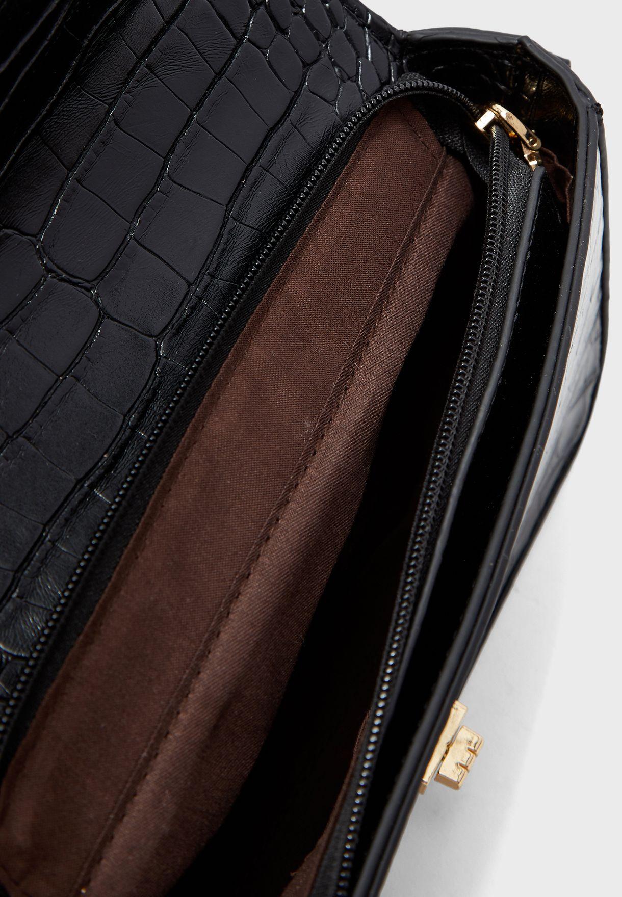 Croc Crossbody Bag