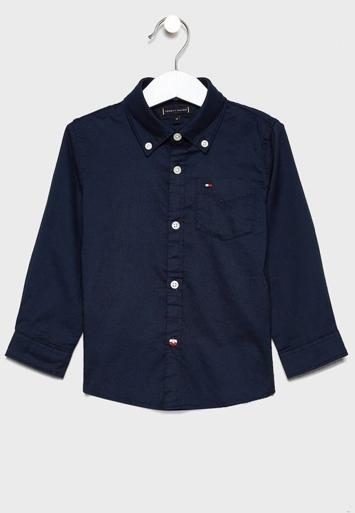 قميص بياقة كلاسيكية للاطفال